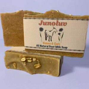 Honey and Oats Soap